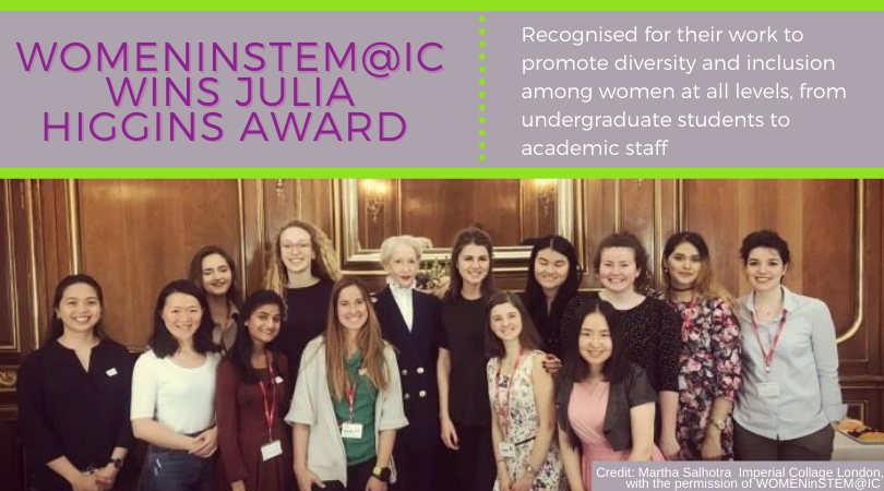 WOMENinSTEM@IC Award