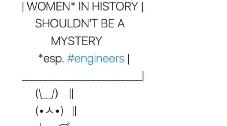 women in history shouldnt be a mystery esp engineers