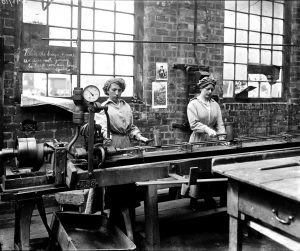 Women testing boiler tubes at John Brown & Co., Clydebank National Records of Scotland UCS1/118/393/10