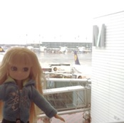 Lottie at Munich Airport