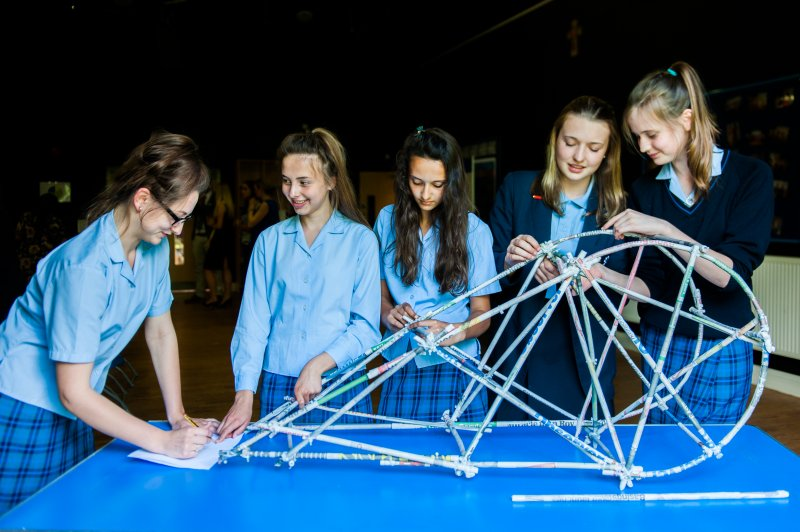 Budding Engineers from Alton Convent School